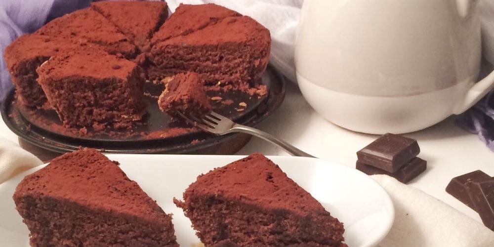 CHOCOLATE CAKE WITHOUT BAKING POWDER | TORTA AL CIOCCOLATO